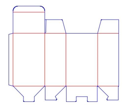 Plantilla Packaging Envase secundario